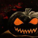 Il re del campo di zucche immagine Riscaio Francesca per racconto Halloween horror Alessandro e il re