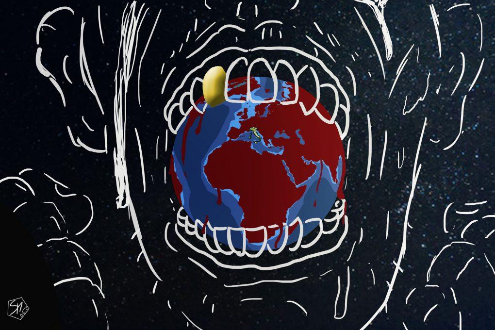 Copertina Secondi nella catena alimentare - Marco Simeoni