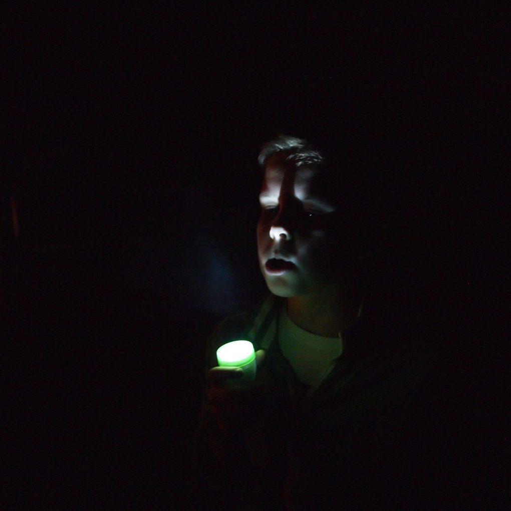 Fotografia il buio racconto di come alleato Marco Simeoni